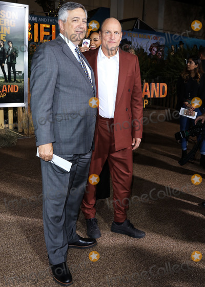 Woody Harrelson Photo - WESTWOOD LOS ANGELES CALIFORNIA USA - OCTOBER 10 Tony Vinciquerra and Woody Harrelson arrive at the Los Angeles Premiere Of Sony Pictures Zombieland Double Tap held at the Regency Village Theatre on October 10 2019 in Westwood Los Angeles California United States (Photo by David AcostaImage Press Agency)