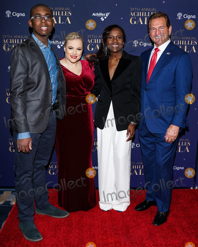 Deborah Roberts Photo - MANHATTAN NEW YORK CITY NEW YORK USA - NOVEMBER 20 Meghan McCain Deborah Roberts and Cedric King arrive at the 29th Annual Achilles Gala held at Cipriani South Street on November 20 2019 in Manhattan New York City New York United States (Photo by William PerezImage Press Agency)