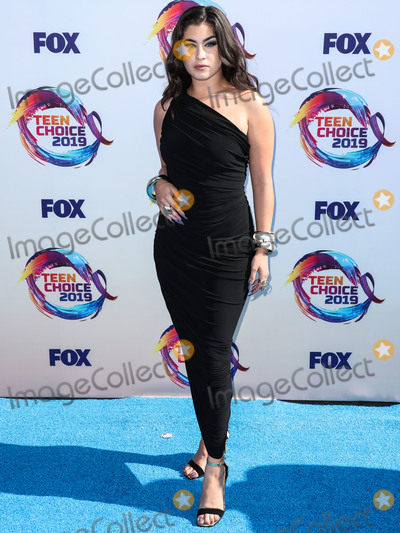 Norma Kamali Photo - HERMOSA BEACH LOS ANGELES CALIFORNIA USA - AUGUST 11 Singer Lauren Jauregui wearing a Norma Kamali dress and Alexis Bittar jewelry arrives at FOXs Teen Choice Awards 2019 held at the Hermosa Beach Pier Plaza on August 11 2019 in Hermosa Beach Los Angeles California United States (Photo by Xavier CollinImage Press Agency)