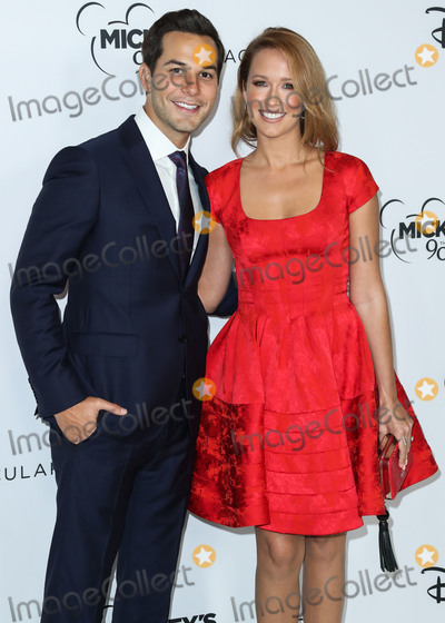 Anna Camp Photo - LOS ANGELES CA USA - OCTOBER 06 Skylar Astin Anna Camp at Mickeys 90th Spectacular held at The Shrine Auditorium and Expo Hall on October 6 2018 in Los Angeles California United States (Photo by Xavier CollinImage Press Agency)