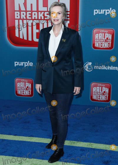 Jane Lynch Photo - HOLLYWOOD LOS ANGELES CA USA - NOVEMBER 05 Jane Lynch at the World Premiere Of Disneys Ralph Breaks The Internet held at the El Capitan Theatre on November 5 2018 in Hollywood Los Angeles California United States (Photo by Xavier CollinImage Press Agency)