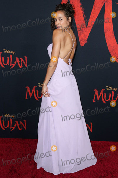 Dania Ramirez Photo - HOLLYWOOD LOS ANGELES CALIFORNIA USA - MARCH 09 Actress Dania Ramirez arrives at the World Premiere Of Disneys Mulan held at the El Capitan Theatre and Dolby Theatre on March 9 2020 in Hollywood Los Angeles California United States (Photo by Xavier CollinImage Press Agency)