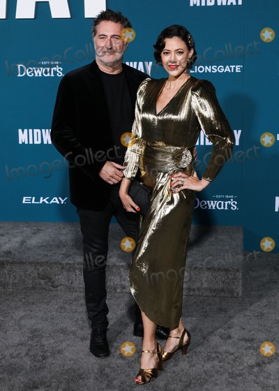 Harald Kloser Photo - WESTWOOD LOS ANGELES CALIFORNIA USA - NOVEMBER 05 Harald Kloser arrives at the Los Angeles Premiere Of Lionsgates Midway held at the Regency Village Theatre on November 5 2019 in Westwood Los Angeles California United States (Photo by David AcostaImage Press Agency)
