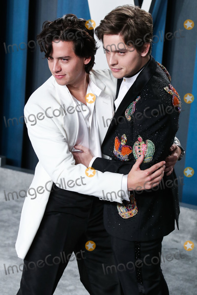 Cole Sprouse Photo - BEVERLY HILLS LOS ANGELES CALIFORNIA USA - FEBRUARY 09 Cole Sprouse and Dylan Sprouse arrive at the 2020 Vanity Fair Oscar Party held at the Wallis Annenberg Center for the Performing Arts on February 9 2020 in Beverly Hills Los Angeles California United States (Photo by Xavier CollinImage Press Agency)