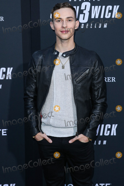 Adam Rippon Photo - HOLLYWOOD LOS ANGELES CALIFORNIA USA - MAY 15 Adam Rippon arrives at the Los Angeles Special Screening Of Lionsgates John Wick Chapter 3 - Parabellum held at the TCL Chinese Theatre IMAX on May 15 2019 in Los Angeles California United States (Photo by Xavier CollinImage Press Agency)