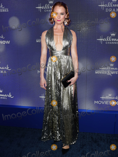 Alicia Witt Photo - BEVERLY HILLS LOS ANGELES CALIFORNIA USA - JULY 26 Alicia Witt arrives at the Hallmark Channel And Hallmark Movies And Mysteries Summer 2019 TCA Press Tour Event held at a Private Residence on July 26 2019 in Beverly Hills Los Angeles California United States (Photo by Xavier CollinImage Press Agency)