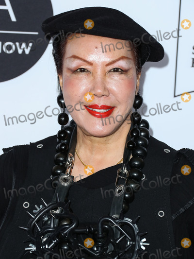Sue Wong Photo - LOS ANGELES CALIFORNIA USA - FEBRUARY 05 Fashion designer Sue Wong arrives at the Los Angeles Art Show 2020 Opening Night Gala held at the Los Angeles Convention Center on February 5 2020 in Los Angeles California United States (Photo by Xavier CollinImage Press Agency)