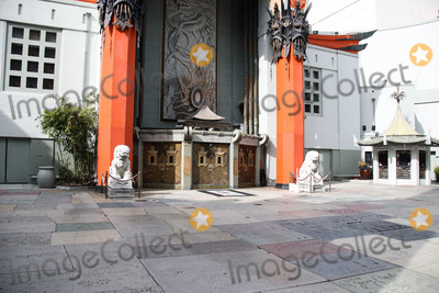 TCL Chinese Theatre Photo - HOLLYWOOD LOS ANGELES CALIFORNIA USA - MARCH 31 A view of the TCL Chinese Theatre IMAX on March 31 2020 in Hollywood Los Angeles California United States Los Angeles tourism and entertainment industry businesses are temporarily closed amid the coronavirus COVID-19 pandemic after the Safer at Home order issued by both Los Angeles Mayor Eric Garcetti at the county level and California Governor Gavin Newsom at the state level on Thursday March 19 2020 which will stay in effect until at least April 19 2020 (Photo by Xavier CollinImage Press Agency)