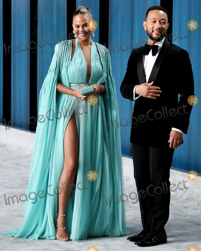 Chrissie Teigen Photo - BEVERLY HILLS LOS ANGELES CALIFORNIA USA - FEBRUARY 09 Chrissy Teigen and John Legend arrive at the 2020 Vanity Fair Oscar Party held at the Wallis Annenberg Center for the Performing Arts on February 9 2020 in Beverly Hills Los Angeles California United States (Photo by Xavier CollinImage Press Agency)