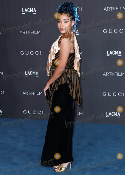 Amandla Stenberg Photo - LOS ANGELES CALIFORNIA USA - NOVEMBER 02 Actress Amandla Stenberg arrives at the 2019 LACMA Art  Film Gala held at the Los Angeles County Museum of Art on November 2 2019 in Los Angeles California United States (Photo by Xavier CollinImage Press Agency)
