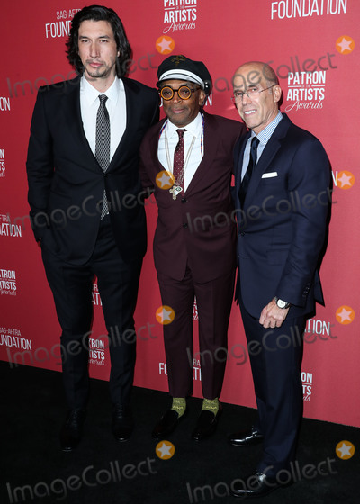 Adam Driver Photo - BEVERLY HILLS LOS ANGELES CA USA - NOVEMBER 08 Adam Driver Spike Lee Jeffrey Katzenberg at the SAG-AFTRA Foundations 3rd Annual Patron Of The Artists Awards held at the Wallis Annenberg Center for the Performing Arts on November 8 2018 in Beverly Hills Los Angeles California United States (Photo by Xavier CollinImage Press Agency)
