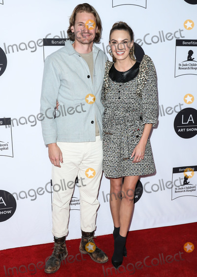 Josh Pence Photo - LOS ANGELES CALIFORNIA USA - FEBRUARY 05 Josh Pence and Elizabeth Chambers arrive at the Los Angeles Art Show 2020 Opening Night Gala held at the Los Angeles Convention Center on February 5 2020 in Los Angeles California United States (Photo by Xavier CollinImage Press Agency)