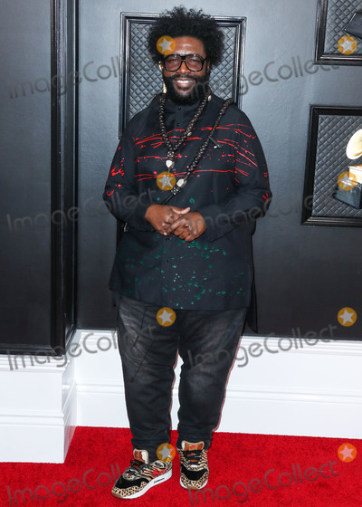 Questlove Photo - LOS ANGELES CALIFORNIA USA - JANUARY 26 Questlove arrives at the 62nd Annual GRAMMY Awards held at Staples Center on January 26 2020 in Los Angeles California United States (Photo by Xavier CollinImage Press Agency)