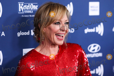 Allison Janney Photo - BEVERLY HILLS LOS ANGELES CALIFORNIA USA - MARCH 28 Actress Allison Janney wearing a Sally LaPointe dress Jimmy Choo shoes a Tyler Ellis clutch and RoseArk earrings arrives at the 30th Annual GLAAD Media Awards held at The Beverly Hilton Hotel on March 28 2019 in Beverly Hills Los Angeles California United States (Photo by Xavier CollinImage Press Agency)