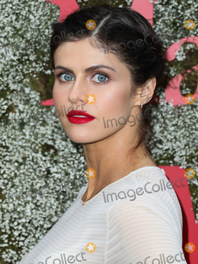 Alexandra Daddario Photo - WEST HOLLYWOOD LOS ANGELES CALIFORNIA USA - JUNE 11 Actress Alexandra Daddario arrives at the InStyle Max Mara Women In Film Celebration held at Chateau Marmont on June 11 2019 in West Hollywood Los Angeles California United States (Photo by Xavier CollinImage Press Agency)
