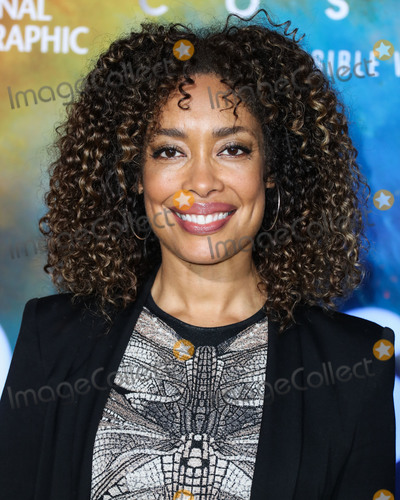 Gina Torres Photo - WESTWOOD LOS ANGELES CALIFORNIA USA - FEBRUARY 26 Actress Gina Torres arrives at the Los Angeles Premiere Of National Geographics Cosmos Possible Worlds held at Royce Hall at the University of California Los Angeles (UCLA) on February 26 2020 in Westwood Los Angeles California United States (Photo by Xavier CollinImage Press Agency)