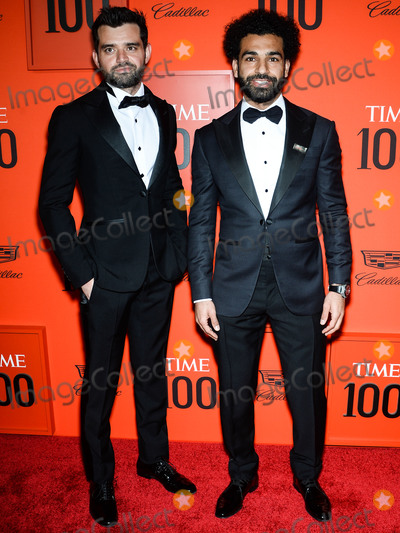 ABBA Photo - MANHATTAN NEW YORK CITY NEW YORK USA - APRIL 23 Ramy Abbas Mohamed Salah arrive at the 2019 Time 100 Gala held at the Frederick P Rose Hall at Jazz At Lincoln Center on April 23 2019 in Manhattan New York City New York United States (Photo by Image Press Agency)