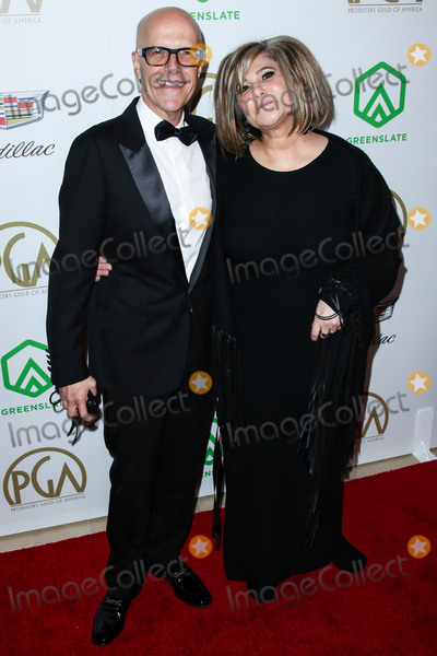 Amy Pascal Photo - BEVERLY HILLS LOS ANGELES CA USA - JANUARY 19 Donald De Line and Amy Pascal arrive at the 30th Annual Producers Guild Awards held at The Beverly Hilton Hotel on January 19 2019 in Beverly Hills Los Angeles California United States (Photo by Xavier CollinImage Press Agency)