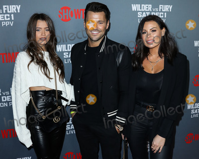 Natalya Wright Photo - LOS ANGELES CA USA - DECEMBER 01 Natalya Wright Mark Wright Jessica Wrigh at the Showtime PPV Presents Heavyweight Championship Of The World Wilder vs Fury Pre-Event VIP Party held at Staples Center on December 1 2018 in Los Angeles California United States (Photo by Xavier CollinImage Press Agency)