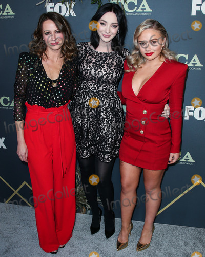 Amy Acker Photo - PASADENA LOS ANGELES CA USA - FEBRUARY 06 Actresses Emma Dumont Amy Acker and Natalie Alyn Lind arrive at the FOX Winter TCA 2019 All-Star Party held at The Fig House on February 6 2019 in Pasadena Los Angeles California United States (Photo by Xavier CollinImage Press Agency)