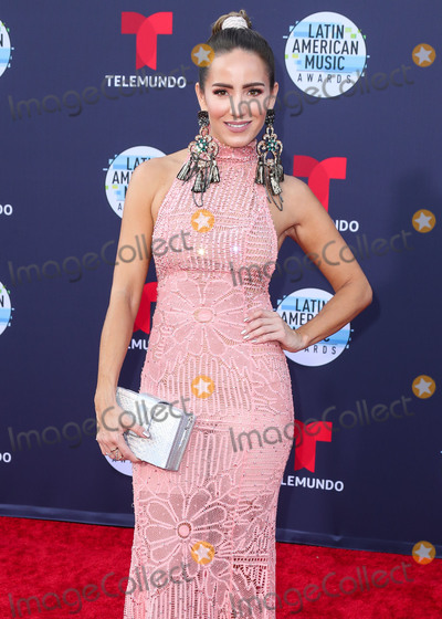 Andrea Minski Photo - HOLLYWOOD LOS ANGELES CA USA - OCTOBER 25 Andrea Minski at the 2018 Latin American Music Awards held at the Dolby Theatre on October 25 2018 in Hollywood Los Angeles California United States (Photo by Xavier CollinImage Press Agency)