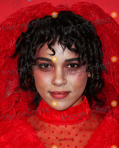 Alexandra Shipp Photo - HOLLYWOOD LOS ANGELES CA USA - OCTOBER 27 Alexandra Shipp at Just Jareds 7th Annual Halloween Party held at Goya Studios on October 27 2018 in Hollywood Los Angeles California United States (Photo by Xavier CollinImage Press Agency)