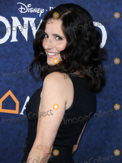 Julia Louis-Dreyfus Photo - HOLLYWOOD LOS ANGELES CALIFORNIA USA - FEBRUARY 18 Actress Julia Louis-Dreyfus arrives at the World Premiere Of Disney And Pixars Onward held at the El Capitan Theatre on February 18 2020 in Hollywood Los Angeles California United States (Photo by Xavier CollinImage Press Agency)