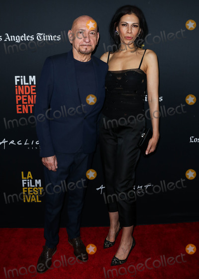 Daniela Lavender Photo - HOLLYWOOD LOS ANGELES CA USA - SEPTEMBER 28 Sir Ben Kingsley Daniela Lavender at the 2018 LA Film Festival - Closing Night Gala Screening Of Nomis held at ArcLight Hollywood on September 28 2018 in Hollywood Los Angeles California United States (Photo by Xavier CollinImage Press Agency)