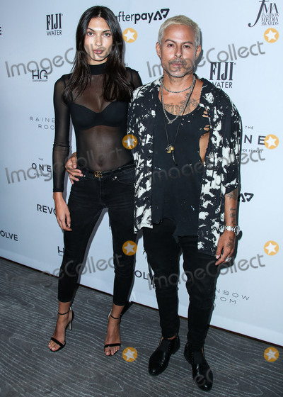 Shay Photo - MANHATTAN NEW YORK CITY NEW YORK USA - SEPTEMBER 05 Kyla Shay and Louis Carreon arrive at Daily Front Rows 2019 Fashion Media Awards held at The Rainbow Room at the Rockefeller Center on September 5 2019 in Manhattan New York City New York United States (Photo by Xavier CollinImage Press Agency)