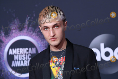 Anwar Hadid Photo - LOS ANGELES CALIFORNIA USA - NOVEMBER 24 Anwar Hadid arrives at the 2019 American Music Awards held at Microsoft Theatre LA Live on November 24 2019 in Los Angeles California United States (Photo by Xavier CollinImage Press Agency)