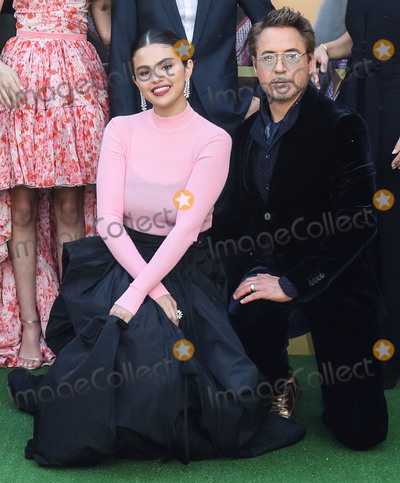 Selena Gomez Photo - WESTWOOD LOS ANGELES CALIFORNIA USA - JANUARY 11 Selena Gomez and Robert Downey Jr arrive at the Los Angeles Premiere Of Universal Pictures Dolittle held at the Regency Village Theatre on January 11 2020 in Westwood Los Angeles California United States (Photo by Xavier CollinImage Press Agency)