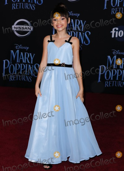 Ariana Greenblatt Photo - HOLLYWOOD LOS ANGELES CA USA - NOVEMBER 29 Ariana Greenblatt arrives at the World Premiere Of Disneys Mary Poppins Returns held at the El Capitan Theatre on November 29 2018 in Hollywood Los Angeles California United States (Photo by David AcostaImage Press Agency)