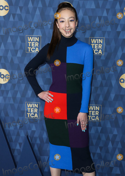 Aubrey Anderson Photo - PASADENA LOS ANGELES CALIFORNIA USA - JANUARY 08 Actress Aubrey Anderson-Emmons arrives at ABC Televisions TCA Winter Press Tour 2020 held at The Langham Huntington Hotel on January 8 2020 in Pasadena Los Angeles California United States (Photo by Xavier CollinImage Press Agency)