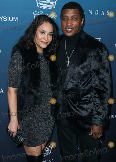 Nicole Pantenburg Photo - LOS ANGELES CA USA - JANUARY 05 Nicole Pantenburg and husband Babyface (Kenneth Brian Edmonds) arrive at The Art Of Elysiums 12th Annual Heaven Gala held at a Private Venue on January 5 2019 in Los Angeles California United States (Photo by Xavier CollinImage Press Agency)