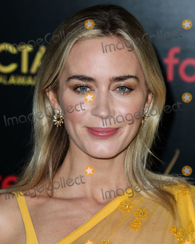 Tabitha Simmons Photo - WEST HOLLYWOOD LOS ANGELES CA USA - JANUARY 04 Actress Emily Blunt wearing an Elie Saab dress Tabitha Simmons shoes earrings by Graziela Gems and bracelets by EFFY Jewelry arrives at the 8th Annual AACTA (Australian Academy of Cinema and Television Arts) International Awards held at Skybar at Mondrian Los Angeles on January 4 2019 in West Hollywood Los Angeles California United States (Photo by Xavier CollinImage Press Agency)