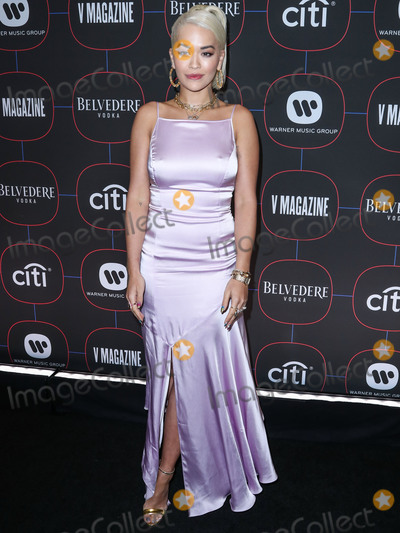 Madness Photo - LOS ANGELES CA USA - FEBRUARY 07 Singer Rita Ora wearing Escada arrives at the Warner Music Pre-Grammy Party 2019 held at The NoMad Hotel Los Angeles on February 7 2019 in Los Angeles California United States (Photo by Xavier CollinImage Press Agency)