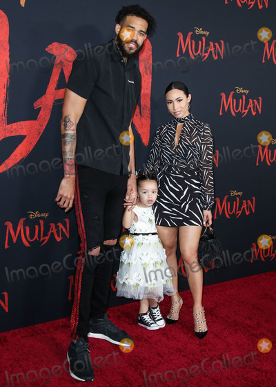 Giselle Photo - HOLLYWOOD LOS ANGELES CALIFORNIA USA - MARCH 09 JaVale McGee daughter Genevieve Grey McGee and partner Giselle Ramirez arrive at the World Premiere Of Disneys Mulan held at the El Capitan Theatre and Dolby Theatre on March 9 2020 in Hollywood Los Angeles California United States (Photo by Xavier CollinImage Press Agency)