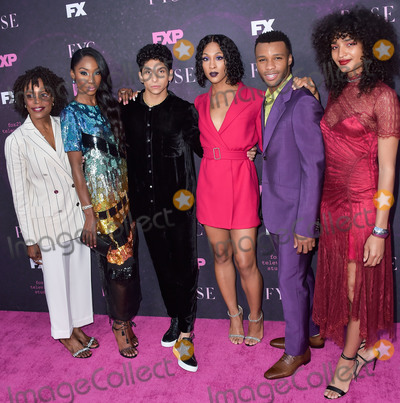 Angelica Ross Photo - WEST HOLLYWOOD LOS ANGELES CALIFORNIA USA - AUGUST 09 Charlayne Woodard Angelica Ross Angel Bismark Curiel Mj Rodriguez Dyllon Burnside and Indya Moore arrive at the Red Carpet Event For FXs Pose held at the Pacific Design Center on August 9 2019 in West Hollywood Los Angeles California United States (Photo by Image Press Agency)