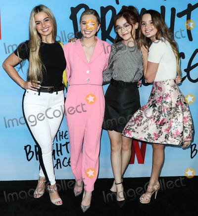 Anna Cathcart Photo - HOLLYWOOD LOS ANGELES CALIFORNIA USA - FEBRUARY 24 Addison Rae Lilia Buckingham Anna Cathcart and Annie LeBlanc arrive at the Los Angeles Special Screening Of Netflixs All The Bright Places held at ArcLight Hollywood on February 24 2020 in Hollywood Los Angeles California United States (Photo by Xavier CollinImage Press Agency)