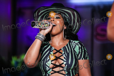 Ashanti Photo - MANHATTAN NEW YORK CITY NEW YORK USA - SEPTEMBER 08 Singer Ashanti performs onstage at the PrettyLittleThing x Saweetie runway show during New York Fashion Week The Shows held at The Plaza Hotel on September 8 2019 in Manhattan New York City New York United States (Photo by Xavier CollinImage Press Agency)