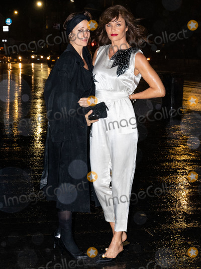 Helena Christensen Photo - MANHATTAN NEW YORK CITY NEW YORK USA - OCTOBER 22 Model Helena Christensen arrives at the Noble Panacea Launch Event held at the Metropolitan Museum of Art on October 22 2019 in Manhattan New York City New York United States (Photo by William PerezImage Press Agency)