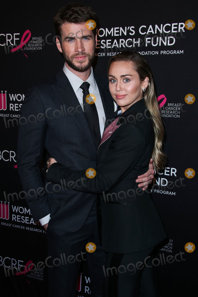 Four Seasons Photo - (FILE) Miley Cyrus and Liam Hemsworth Split BEVERLY HILLS LOS ANGELES CALIFORNIA USA - FEBRUARY 28 Actor Liam Hemsworth and wifesinger Miley Cyrus arrive at The Womens Cancer Research Funds An Unforgettable Evening Benefit Gala 2019 held at the Beverly Wilshire Four Seasons Hotel on February 28 2019 in Beverly Hills Los Angeles California United States (Photo by Xavier CollinImage Press Agency)