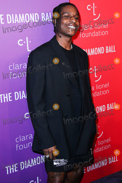 AAP Rocky Photo - MANHATTAN NEW YORK CITY NEW YORK USA - SEPTEMBER 12 AAP Rocky arrives at Rihannas 5th Annual Diamond Ball Benefitting The Clara Lionel Foundation held at Cipriani Wall Street on September 12 2019 in Manhattan New York City New York United States (Photo by Xavier CollinImage Press Agency)