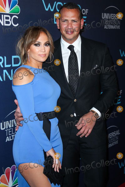 YES Photo - (FILE) Jennifer Lopez and Alex Rodriguez engaged Music icon Jennifer Lopez and retired baseball star Alex Rodriguez are engaged after two years of dating The two celebs who often document their relationship milestones on social media took to Instagram on Saturday night to share the news She said yes Rodriguez said in a post showing JLos hand now bearing a huge engagement ring WEST HOLLYWOOD LOS ANGELES CA USA - SEPTEMBER 19 Singer Jennifer Lopez and boyfriend Alex Rodriguez arrive at NBCs World Of Dance Celebration held at Delilah on September 19 2017 in West Hollywood Los Angeles California United States (Photo by Xavier CollinImage Press Agency)