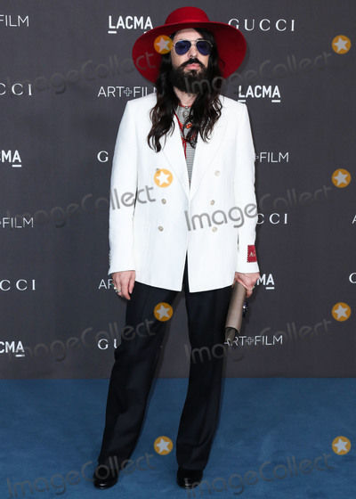 Alessandro Michele Photo - LOS ANGELES CALIFORNIA USA - NOVEMBER 02 Alessandro Michele arrives at the 2019 LACMA Art  Film Gala held at the Los Angeles County Museum of Art on November 2 2019 in Los Angeles California United States (Photo by Xavier CollinImage Press Agency)