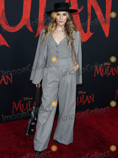 Allison Holker Photo - HOLLYWOOD LOS ANGELES CALIFORNIA USA - MARCH 09 Allison Holker arrives at the World Premiere Of Disneys Mulan held at the El Capitan Theatre and Dolby Theatre on March 9 2020 in Hollywood Los Angeles California United States (Photo by Xavier CollinImage Press Agency)