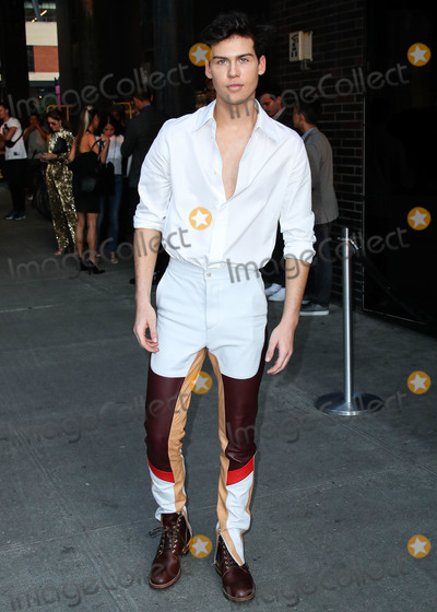Aidan Alexander Photo - MANHATTAN NEW YORK CITY NEW YORK USA - SEPTEMBER 04 Actor Aidan Alexander arrives at the E ELLE and IMG NYFW Kick-Off Party 2019 held at The Top of The Standard on September 4 2019 in Manhattan New York City New York United States (Photo by Xavier CollinImage Press Agency)