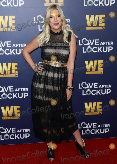 Tori Spelling Photo - BEVERLY HILLS LOS ANGELES CA USA - DECEMBER 11 Tori Spelling arrives at WE tvs Real Love Relationship Reality TVs Past Present And Future Event held at The Paley Center for Media on December 11 2018 in Beverly Hills Los Angeles California United States (Photo by David AcostaImage Press Agency)