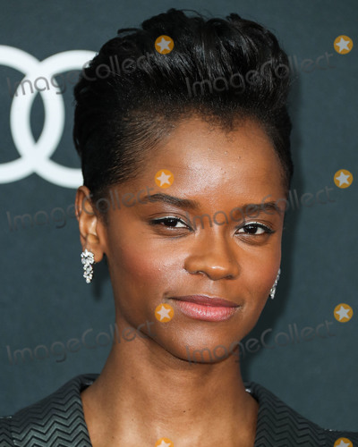 Nicholas Kirkwood Photo - LOS ANGELES CALIFORNIA USA - APRIL 22 Actress Letitia Wright wearing Nicholas Kirkwood shoes arrives at the World Premiere Of Walt Disney Studios Motion Pictures and Marvel Studios Avengers Endgame held at the Los Angeles Convention Center on April 22 2019 in Los Angeles California United States (Photo by Xavier CollinImage Press Agency)