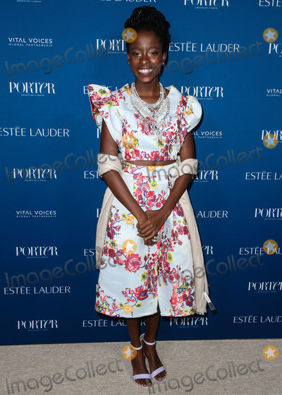 Amanda Gorman Photo - LOS ANGELES CA USA - OCTOBER 09 Amanda Gorman at PORTERs Incredible Women Gala 2018 held at The Ebell of Los Angeles on October 9 2018 in Los Angeles California United States (Photo by Image Press Agency)